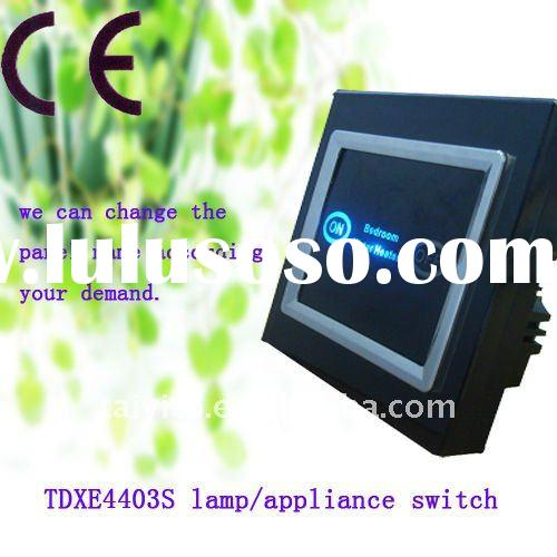 TAIYITO TDXE4403S home automation system X10 control lamp/appliance switch / one way switch/touch sc