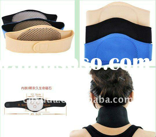 Tourmaline Far Infrared Ray Heat Health Pain Relief Neck Brace Support Strap