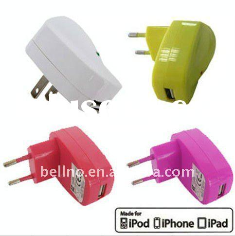 USB wall charger made for Iphone&IPod&IPad