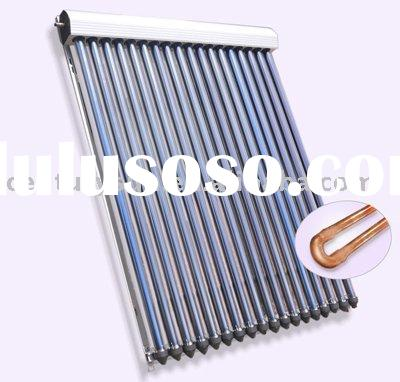 U pipe thermal water heater solar collector