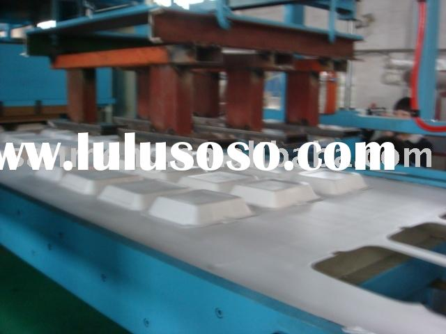 Uni-Block Automatic Vacuum Forming & press-cutting & Stacking Machine for food container