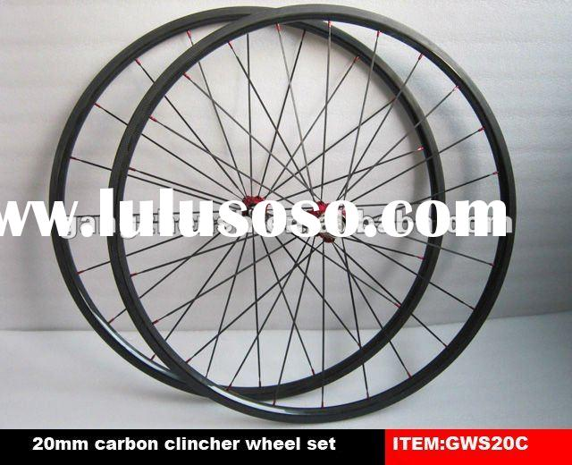 Wonderful! 20mm clincher full carbon bicycle wheels