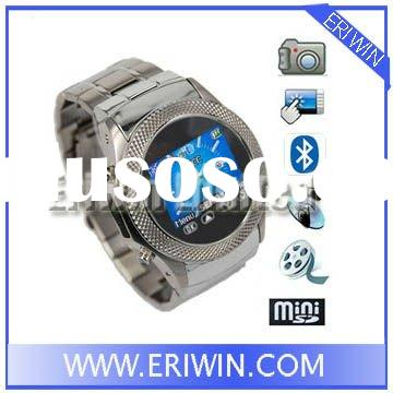 ZX-W960 Quad-band stainless steel watch mobile phone