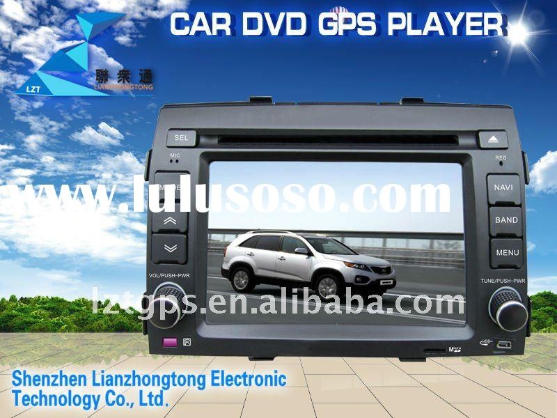 (Factory Price) LCD screen 2 din 6.2 inch kia sorento radio gps with car dvd player bluetooth usb sd