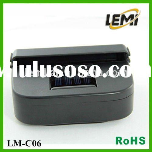 #LM-C06 Solar Powered Auto Car Air Vent Cooling