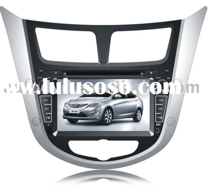 all in one din Car DVD/GPS /Radio for Hyundai Accent 125