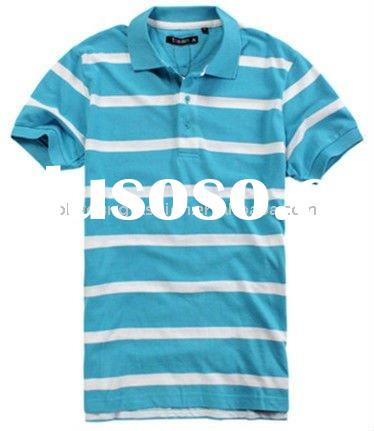 brand polo embroided men's 100% cotton short sleeved polo t shirt