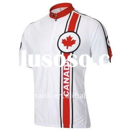 canada cycling jersey/bike wear/bicycle clothing