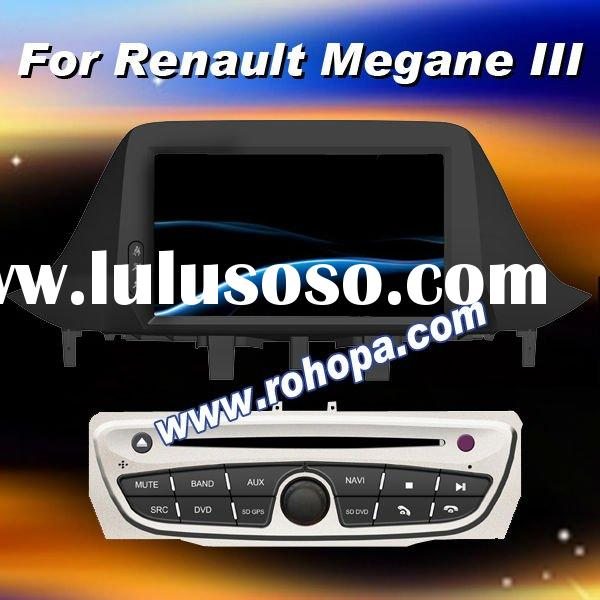 car audio dvd gps system player for Renault Megena III