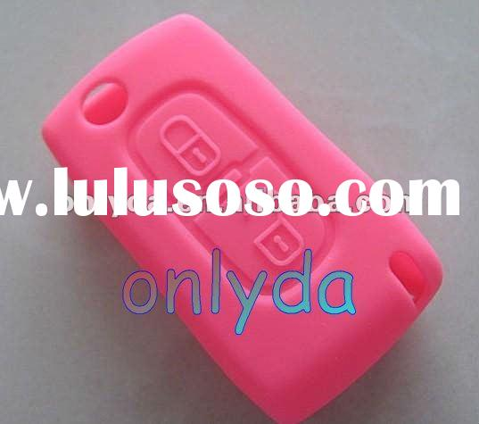 car key Citroen remote key rubber cover ,colorful ,free shipping fee 60%