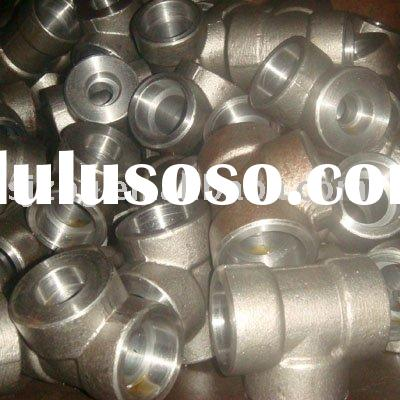 carbon steel pipe fitting/forged tee