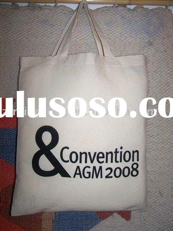 cheap high quality plain white cotton bag