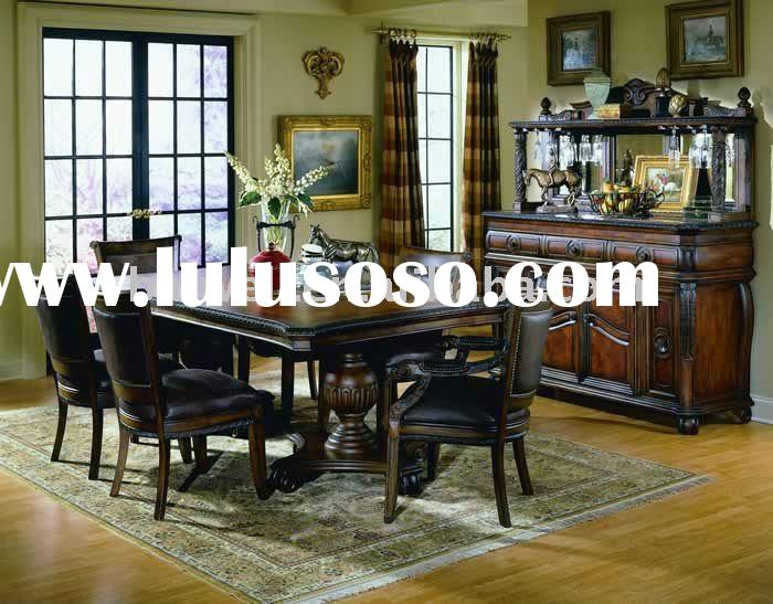 classic antique wooden hand carved Dining Room 8400