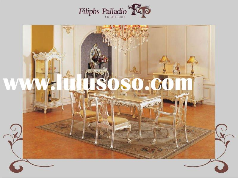 classical furniture for home - solid wood hand carving dining room furnitures