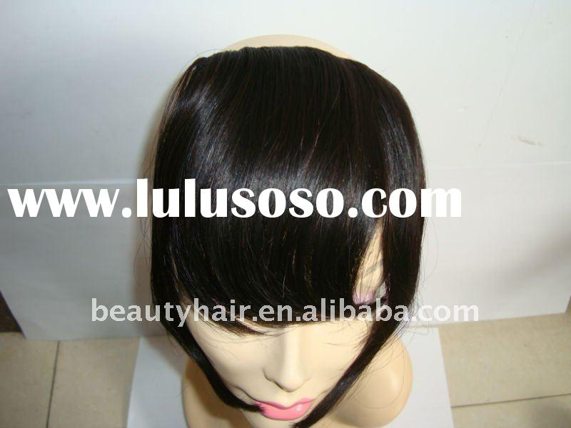 clips in hair bangs, 100% indian remy hair clips in hair extensions