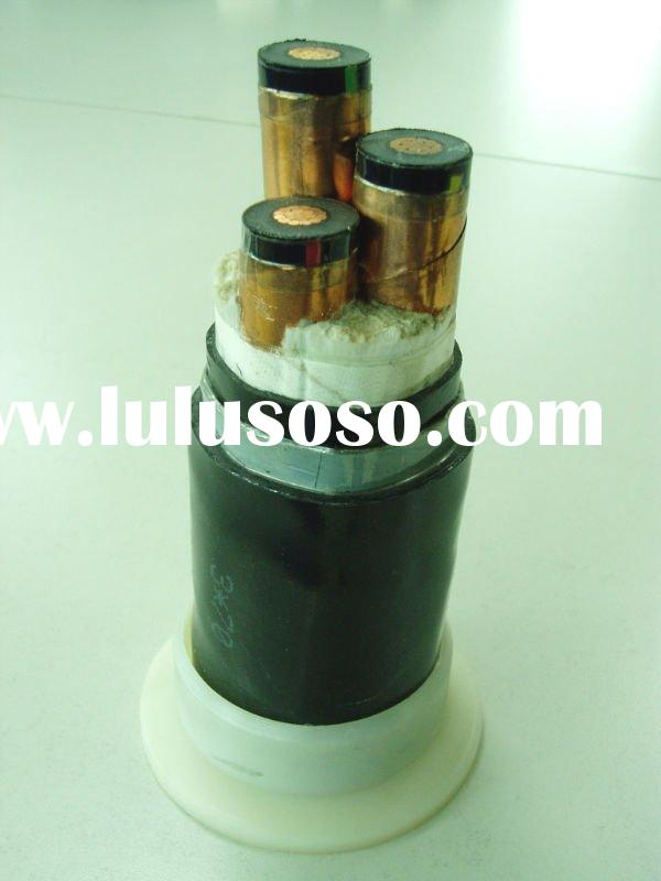 copper/aluminum-core XLPE insulated steel tape armored PVC sheathed power cable