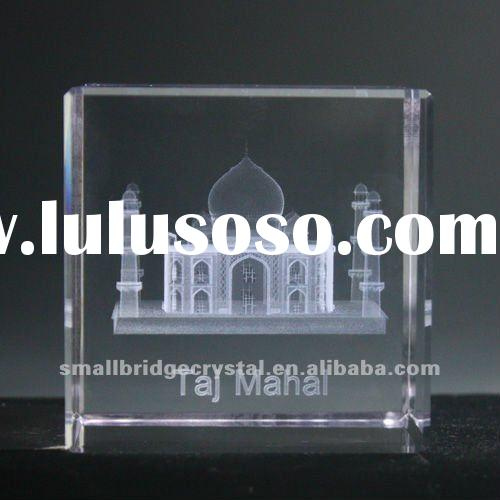 crystal paperweight souvenir gift paper gift box