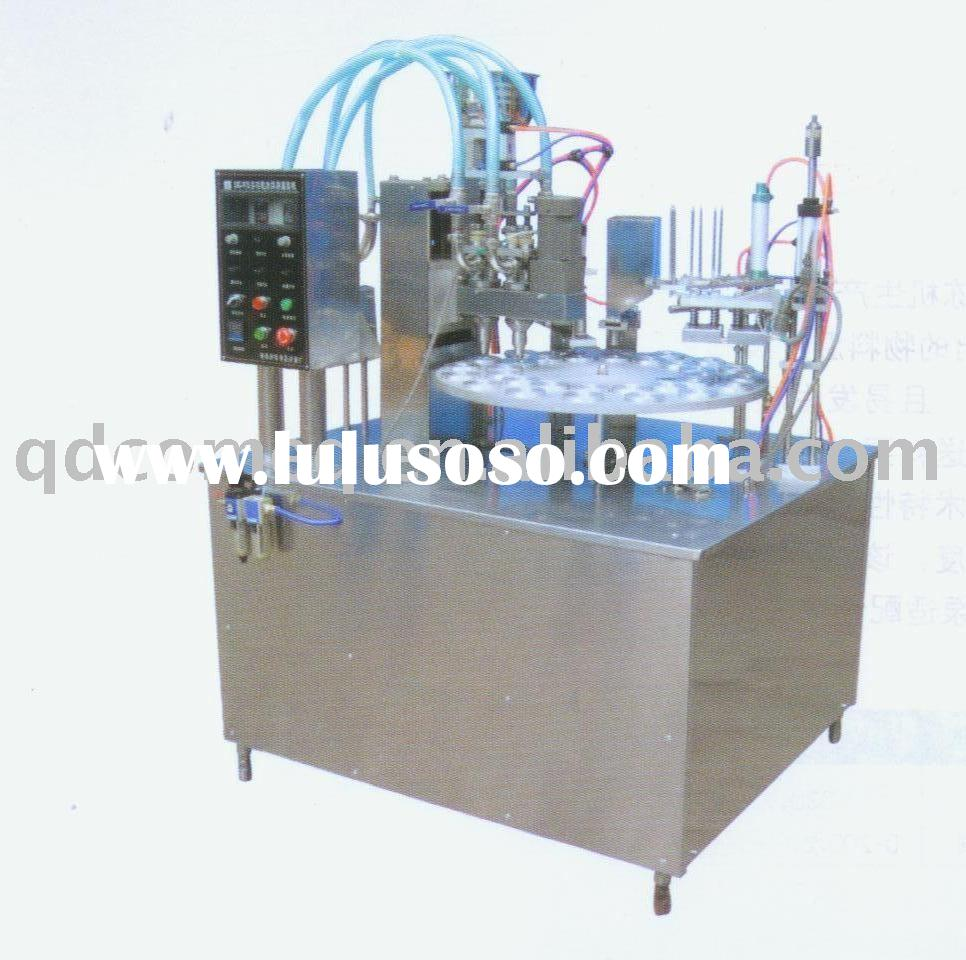 cup and cone ice cream filling machine