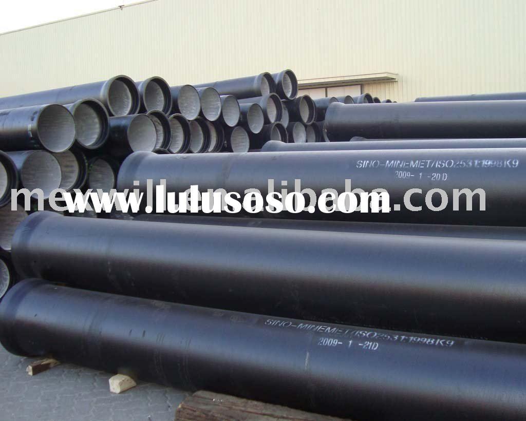 Ductile cast iron pipe fittings all flange tee for sale