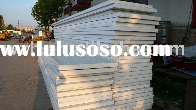 eps sandwich panel for wall & roof,exported to Europe, South Africa, Maxico,USA and other countr