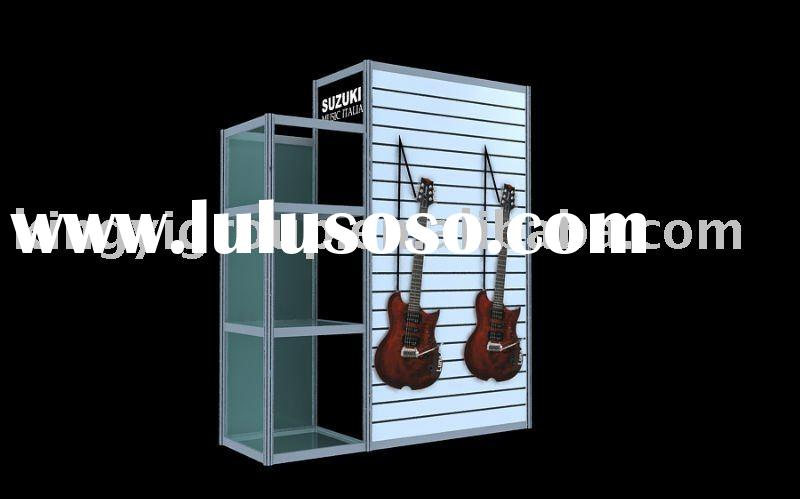 Trade Show Booth Equipment : Design modular system standard back to exhibition