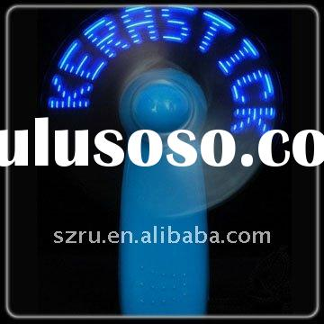 flashing hand held fan for shop promotion