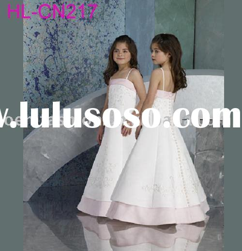 formal flower girl dress/kids dress HL-CN217