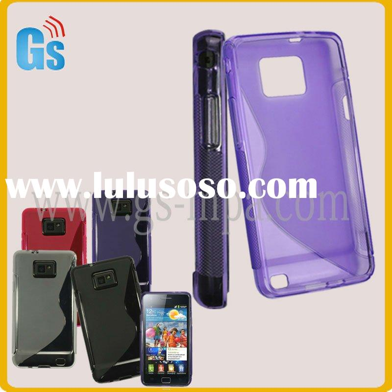 gel cell phone cover for Samsung Galaxy 2 i9100