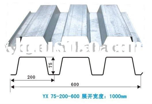 low cost metal floor decking for steel structure building