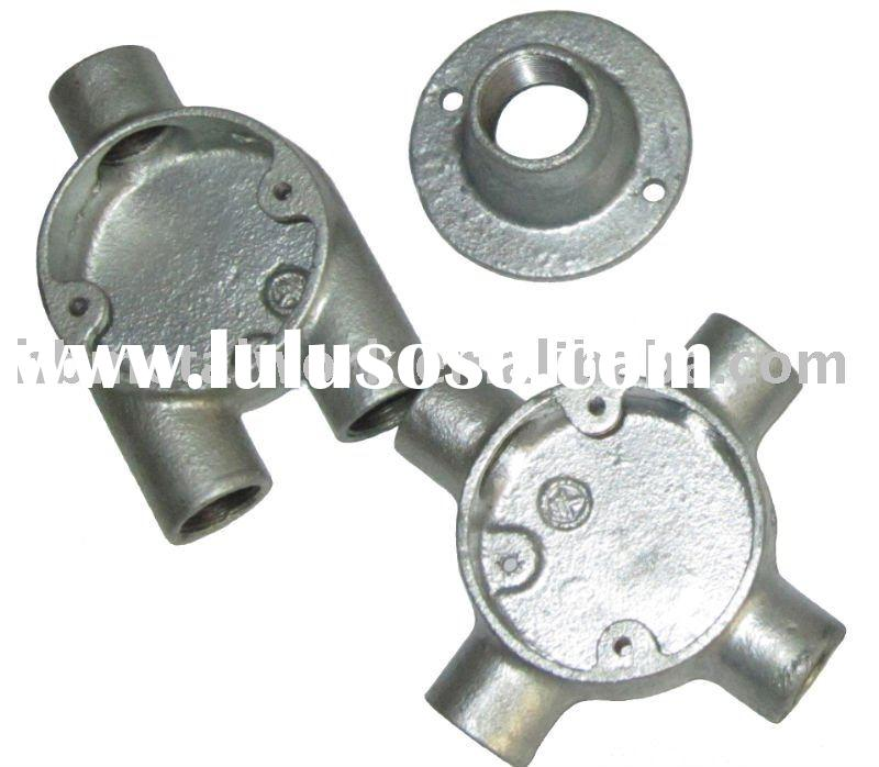 malleable iron electrical conduit box- intersection type