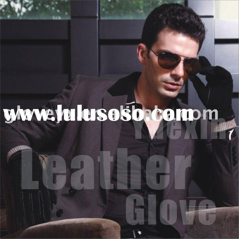 mens leather glove