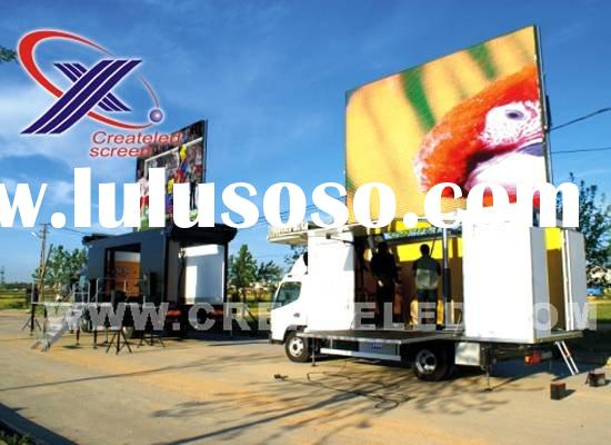 mobile led display(truck-mounted led display)