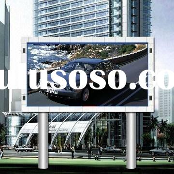 outdoor digital advertising sign LED
