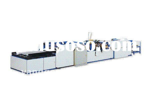 professional supplier of paper and plastic shopping bag making pouch packing machine