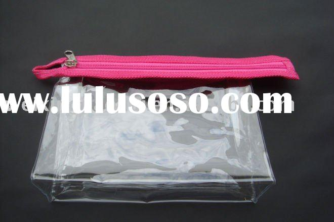 pvc clear plastic holder