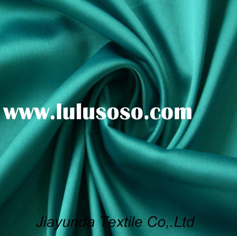 semi-dull spandex satin