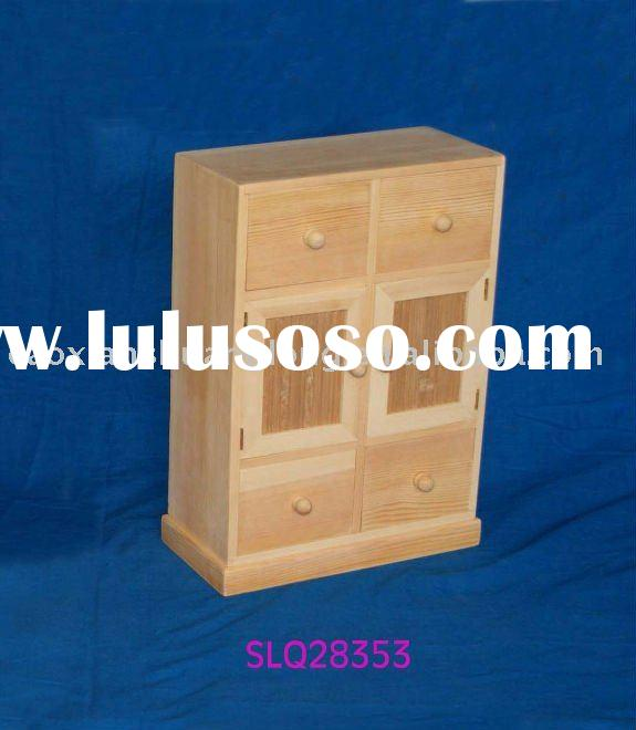 solid wood small cabinet