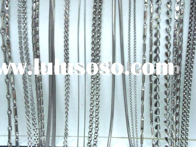 steel chains/fashion jewelry