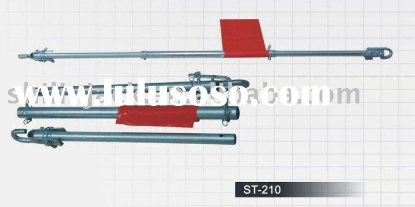 steel towing tube, tow pole