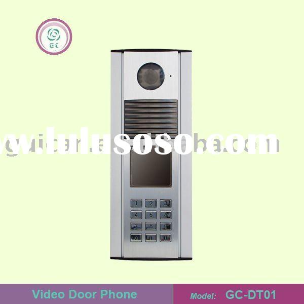 ultra-tin visual intercom system for building