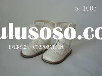 white baby doll shoes