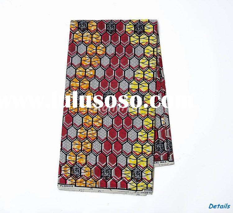 wholesale fashion veritable real wax print best cotton fabric 120c