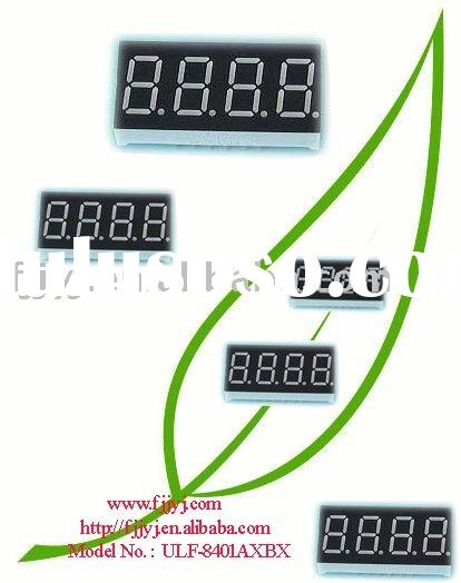 0.8'' 7 segment led display (four digit)