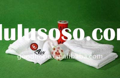 100% cotton promotional compressed towel
