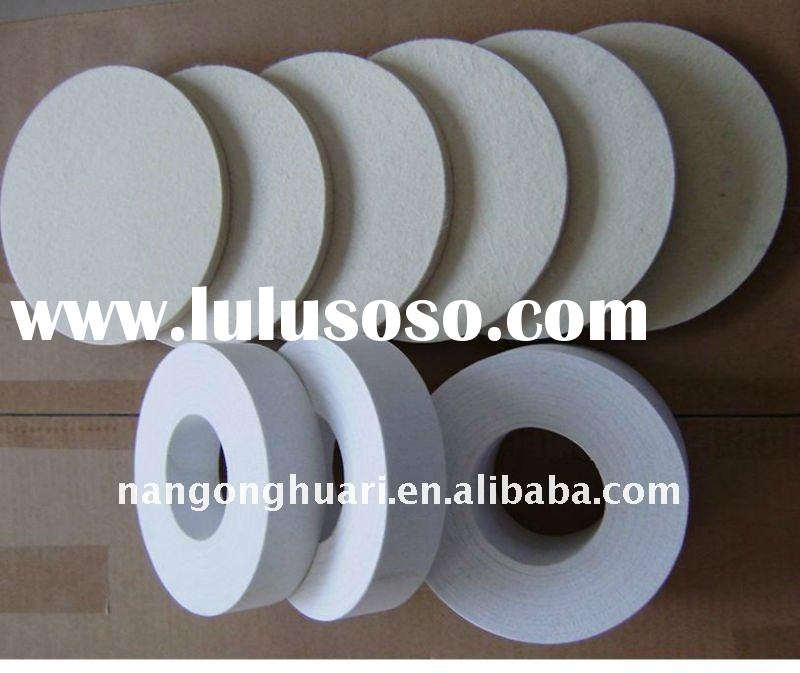 100%wool hard Glass polishing wool felt wheel