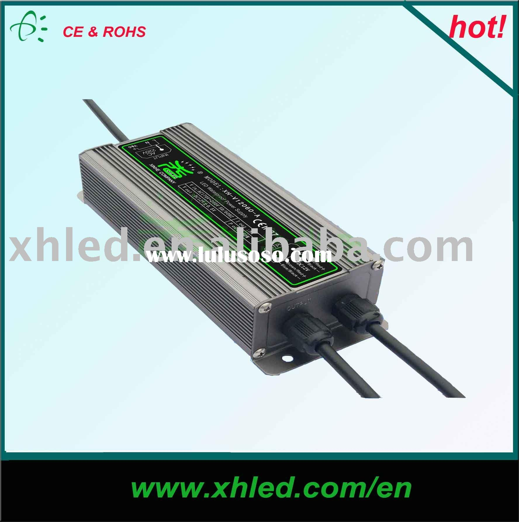 12V/24V LED switching power supply(IP67, CE/ROHS)---XH-V12060-B