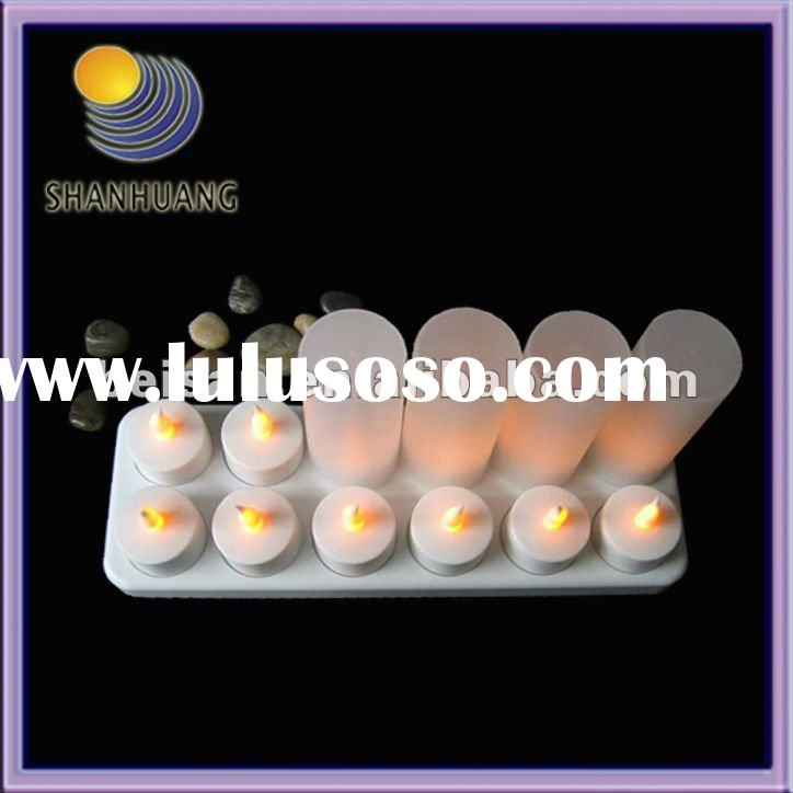 12 LED Rechargeable Candle Light