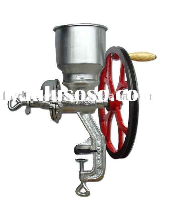 150# manual corn grinder with belt pulley
