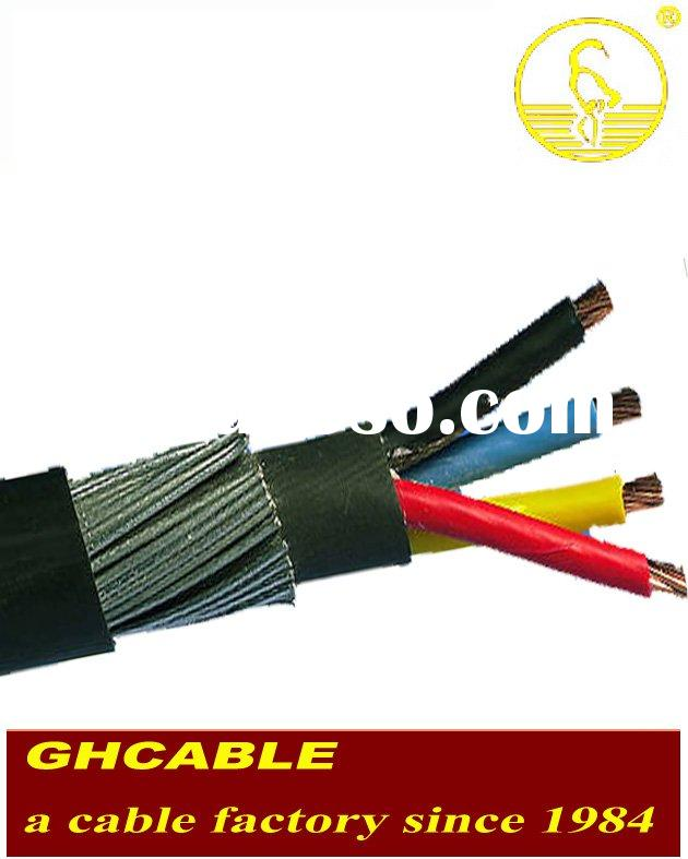 1.5mm 3 core SWA Power Cable