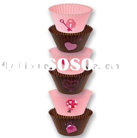 2011 Funky Silicone Mini Cake Mold with Factory Directly Sale